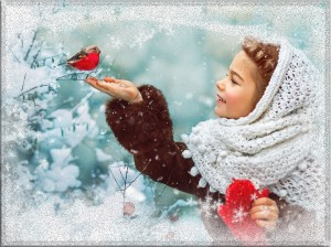 Создай свой фотоэффект. Зима красива.