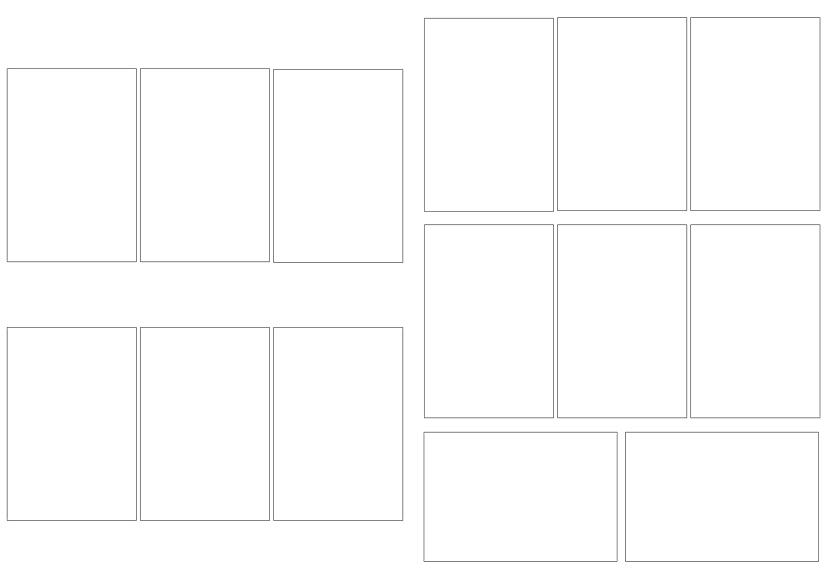 Рамки на 6 и 8 фото